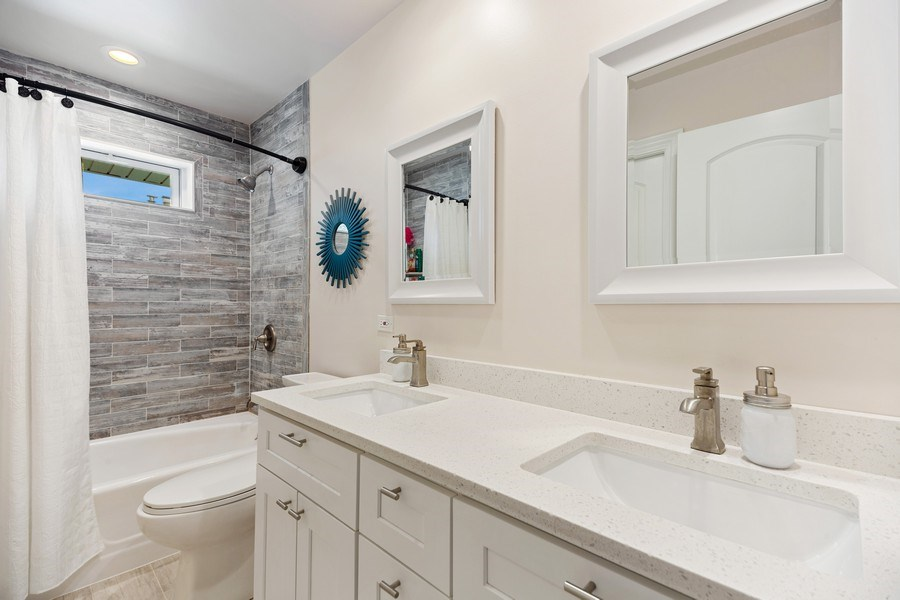 Real Estate Photography - 334 S Gibbons, Arlington Heights, IL, 60004 - Bathroom
