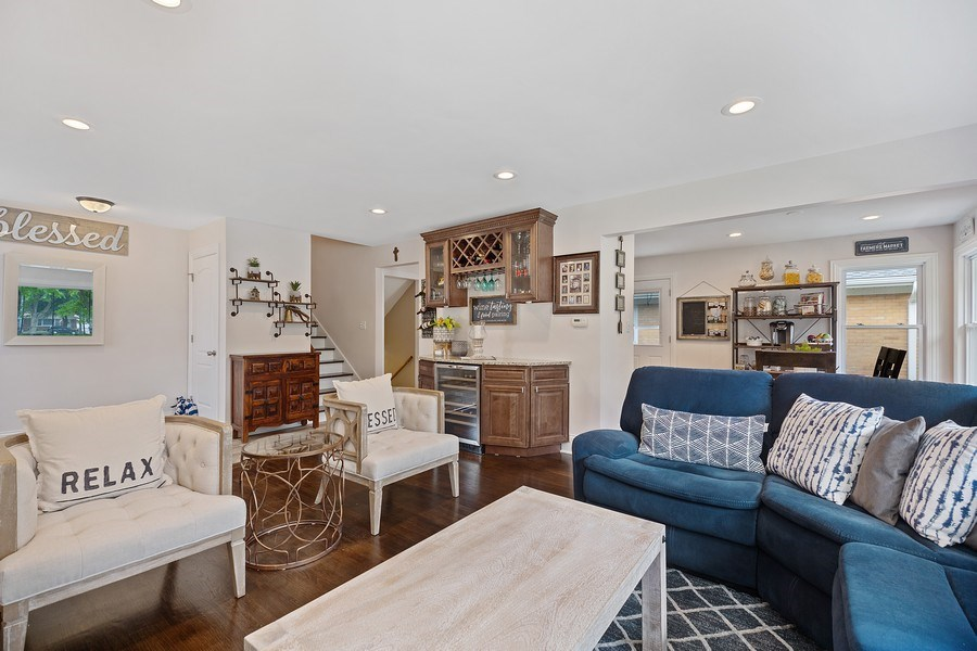 Real Estate Photography - 334 S Gibbons, Arlington Heights, IL, 60004 - Living Room / Dining Room