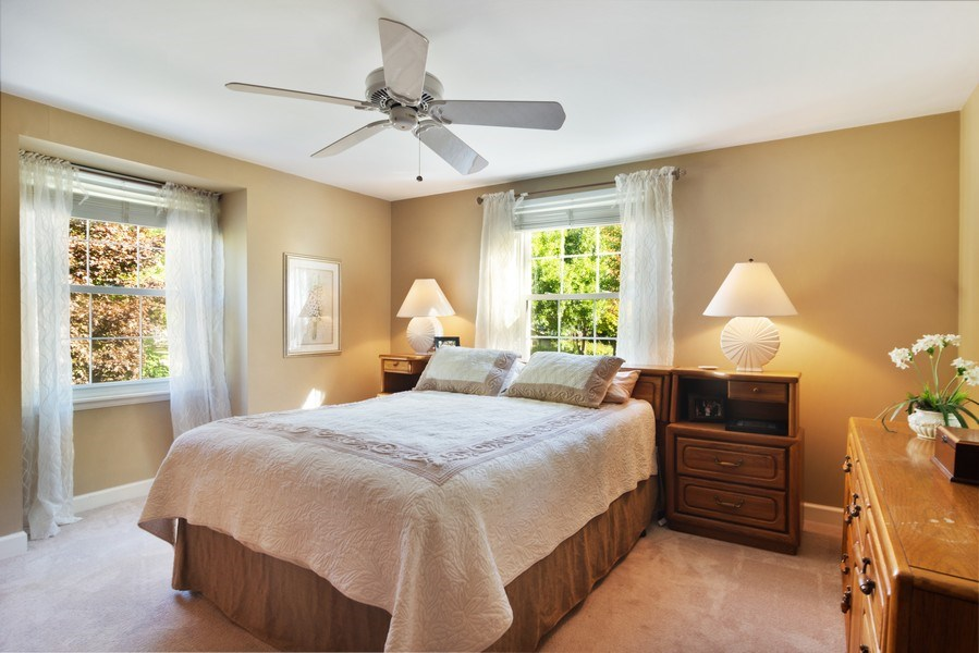 Real Estate Photography - 1522 S Harvard Ave, Arlington Heights, IL, 60005 - Master Bedroom