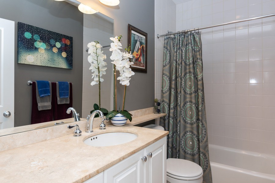 Real Estate Photography - 2451 N Clybourn, Chicago, IL, 60614 - 3rd Bathroom