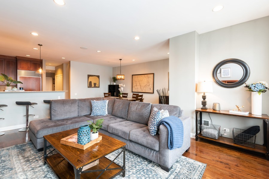 Real Estate Photography - 2451 N Clybourn, Chicago, IL, 60614 - Living Room