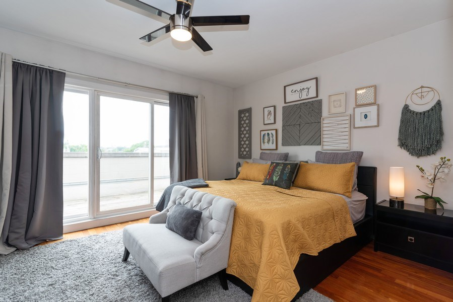 Real Estate Photography - 2451 N Clybourn, Chicago, IL, 60614 - Master Bedroom
