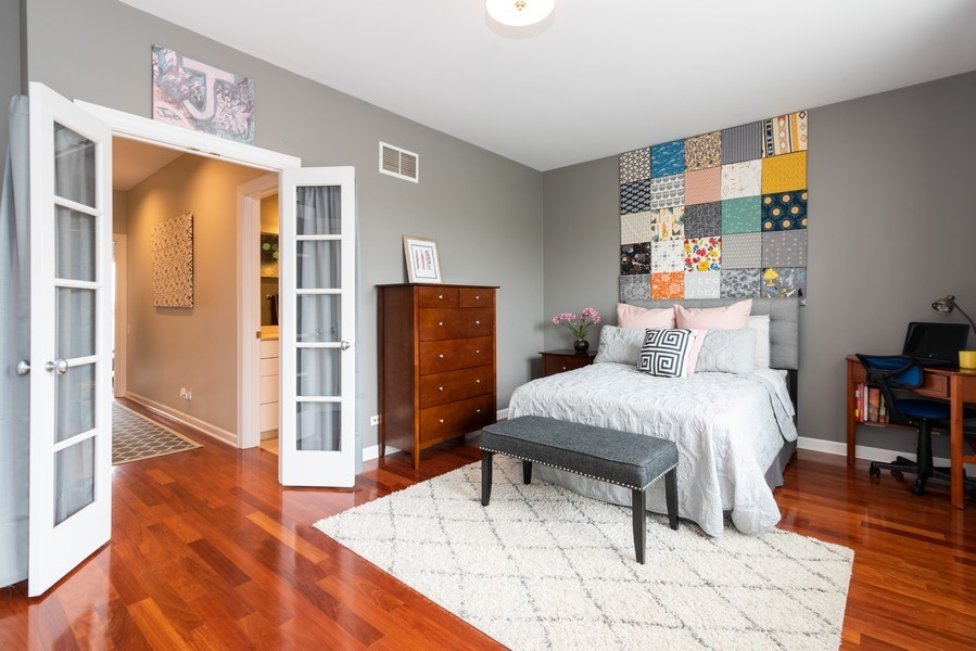 Real Estate Photography - 2451 N Clybourn, Chicago, IL, 60614 - 2nd Bedroom