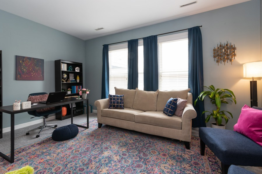Real Estate Photography - 2451 N Clybourn, Chicago, IL, 60614 - 3rd Bedroom