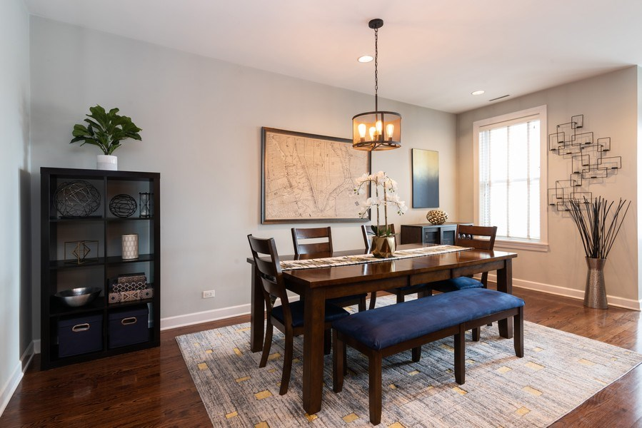 Real Estate Photography - 2451 N Clybourn, Chicago, IL, 60614 - Dining Room