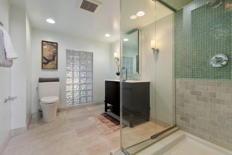 Real Estate Photography - 1445 W. Belden Ave, Unit 3K, Chicago, IL, 60614 - Master Bathroom