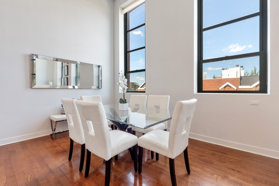 Real Estate Photography - 1445 W. Belden Ave, Unit 3K, Chicago, IL, 60614 - Dining Room