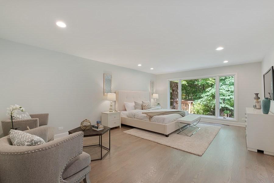 Real Estate Photography - 195 Linden Park Pl, Highland Park, IL, 60035 - Master Bedroom
