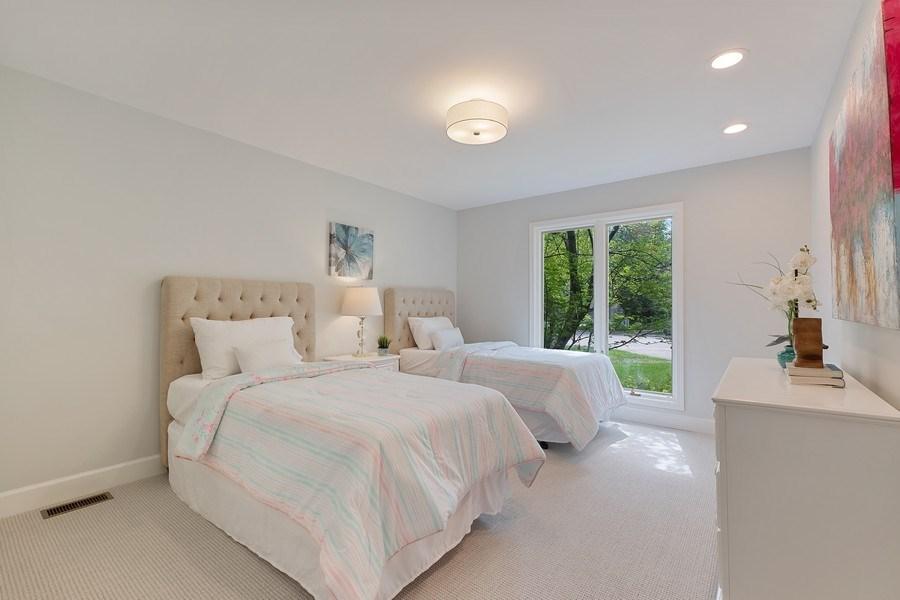 Real Estate Photography - 195 Linden Park Pl, Highland Park, IL, 60035 - 3rd Bedroom
