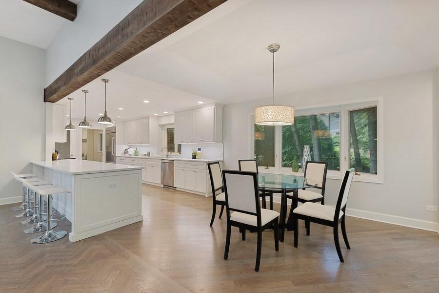 Real Estate Photography - 195 Linden Park Pl, Highland Park, IL, 60035 - Kitchen / Breakfast Room