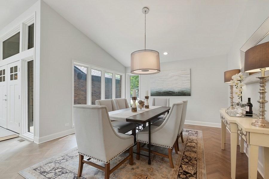 Real Estate Photography - 195 Linden Park Pl, Highland Park, IL, 60035 - Dining Room