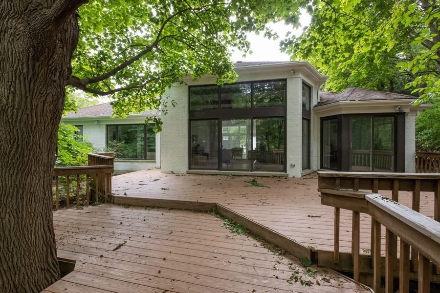 Real Estate Photography - 195 Linden Park Pl, Highland Park, IL, 60035 - Rear View