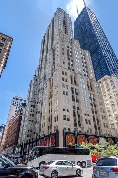 Real Estate Photography - 159 Walton, unit 11-F, CHICAGO, IL, 60611 - Front View