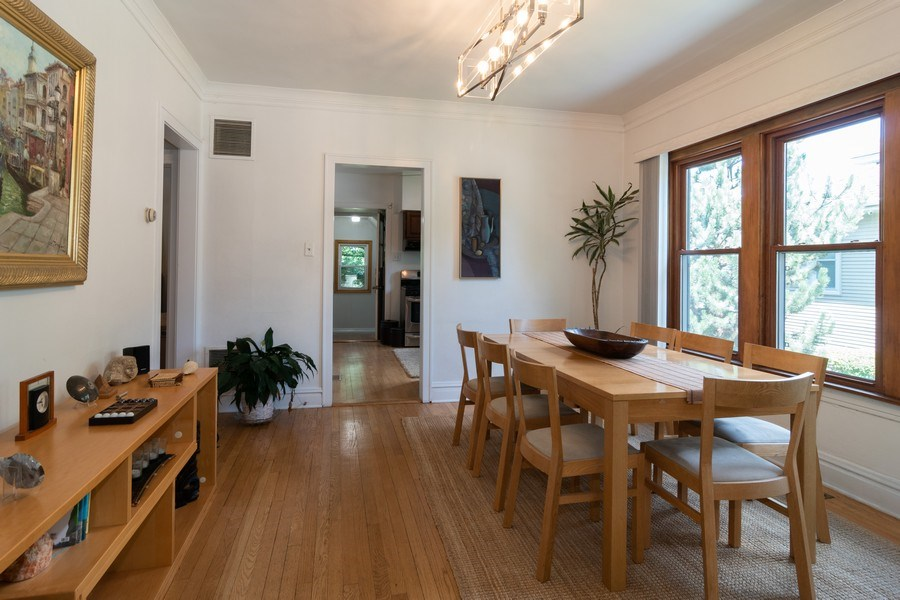 Real Estate Photography - 94 Northgate Rd, Riverside, IL, 60546 - Dining Room
