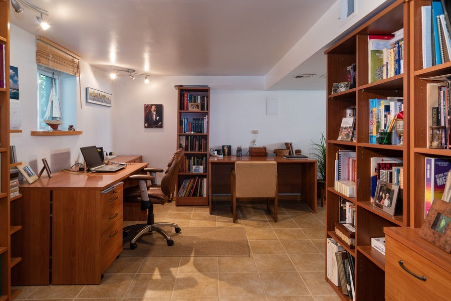 Real Estate Photography - 94 Northgate Rd, Riverside, IL, 60546 - Office