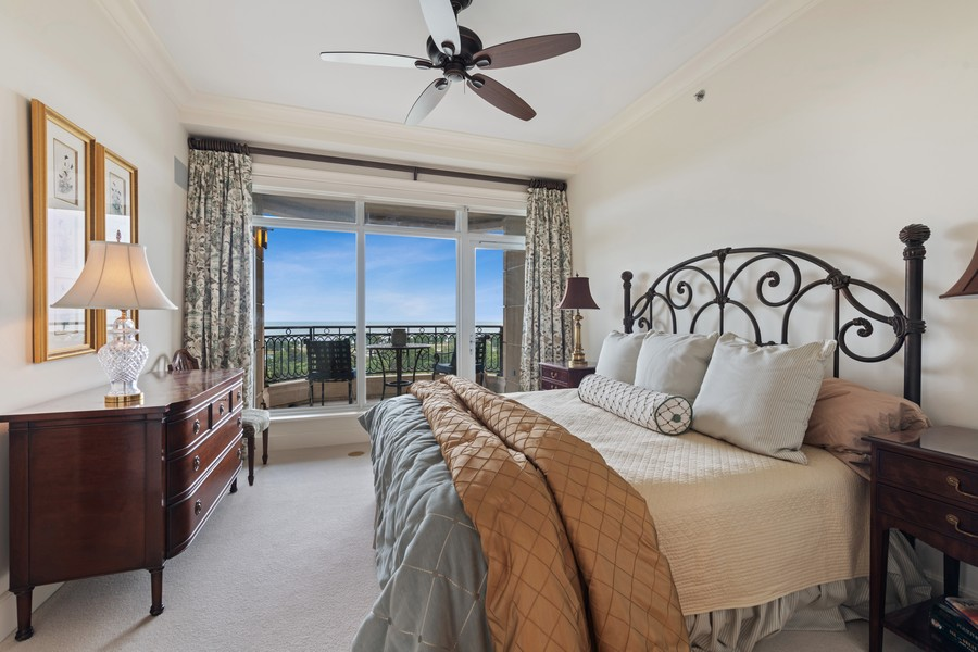 Real Estate Photography - 2550 N Lakeview, Unit S1205, Chicago, IL, 60614 - Master Bedroom