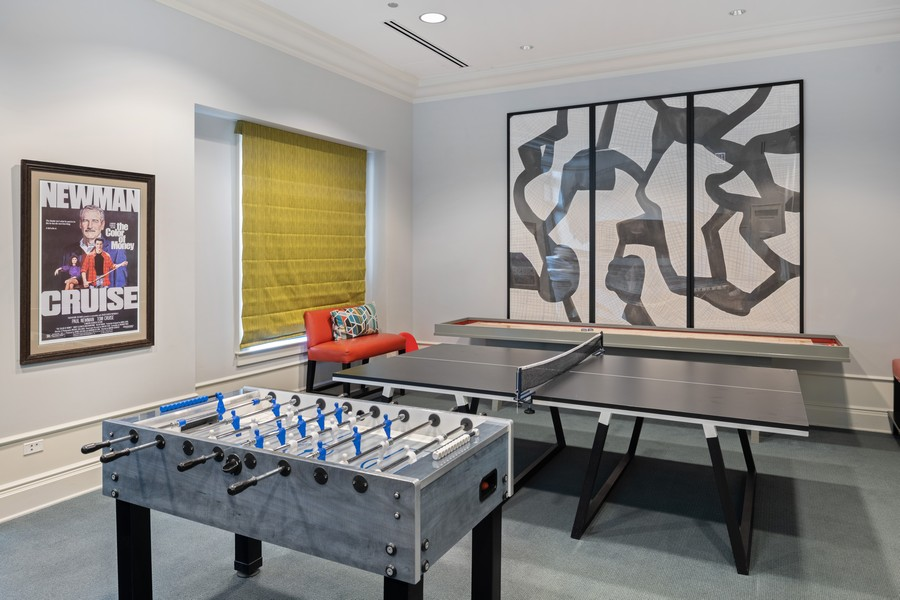 Real Estate Photography - 2550 N Lakeview, Unit S1205, Chicago, IL, 60614 - Gameroom