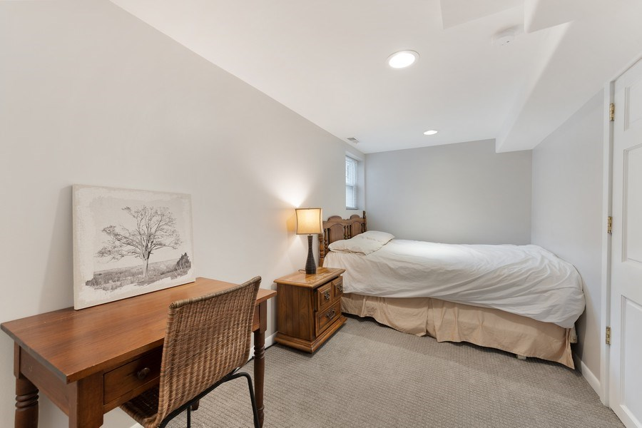 Real Estate Photography - 3643 N Hoyne, Unit 1, Chicago, IL, 60618 - 3rd Bedroom