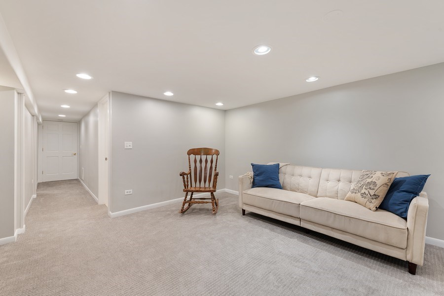 Real Estate Photography - 3643 N Hoyne, Unit 1, Chicago, IL, 60618 - Family Room