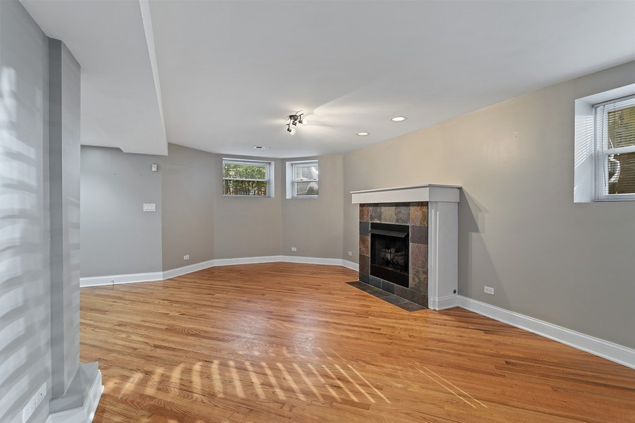 Real Estate Photography - 917 W Gordon Ter, Chicago, IL, 60613 - Living Room