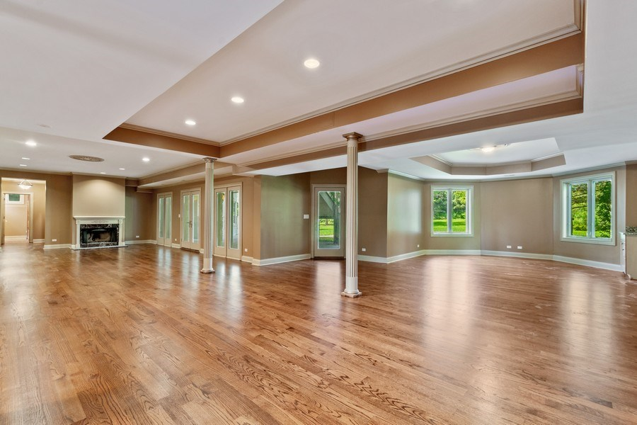 Real Estate Photography - 19 Rolling Hills Dr, Barrington Hills, IL, 60010 - Recreation Room
