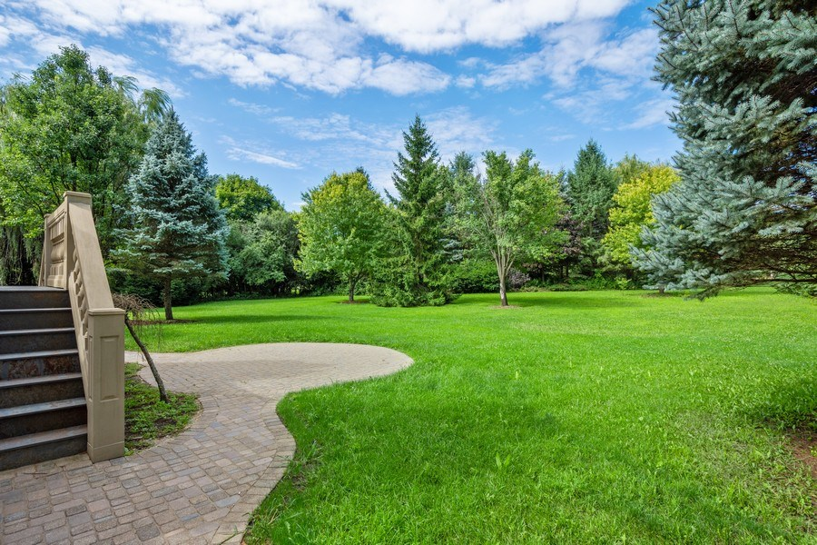 Real Estate Photography - 19 Rolling Hills Dr, Barrington Hills, IL, 60010 - Back Yard