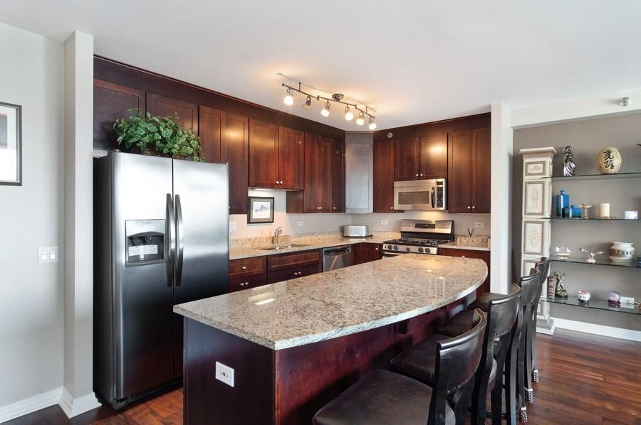 Real Estate Photography - 33 W Ontario St, Apt 30H, Chicago, IL, 60654 - Kitchen
