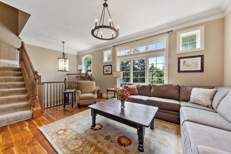 Real Estate Photography - 144 W Quincy, Westmont, IL, 60559 - Living Room