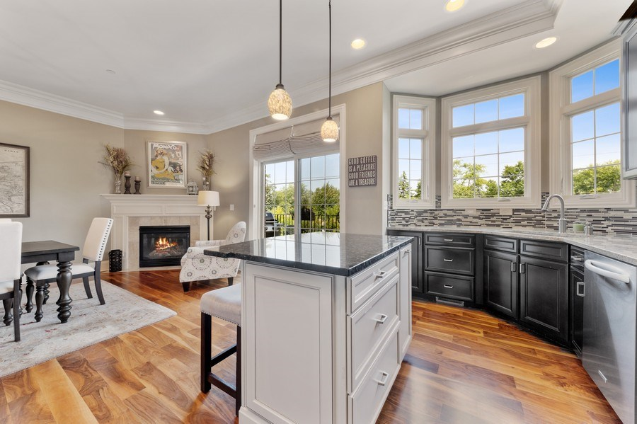 Real Estate Photography - 144 W Quincy, Westmont, IL, 60559 - Kitchen