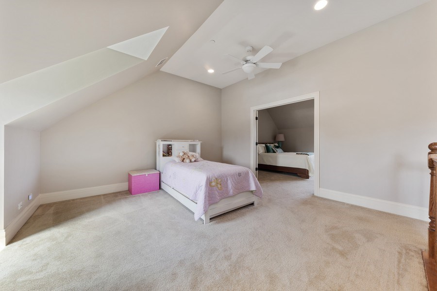 Real Estate Photography - 144 W Quincy, Westmont, IL, 60559 - Master Bedroom