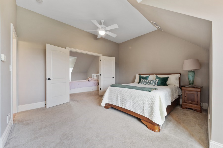 Real Estate Photography - 144 W Quincy, Westmont, IL, 60559 - BEDROOM