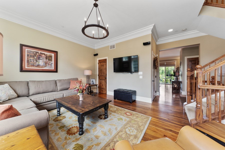 Real Estate Photography - 144 W Quincy, Westmont, IL, 60559 - Family Room