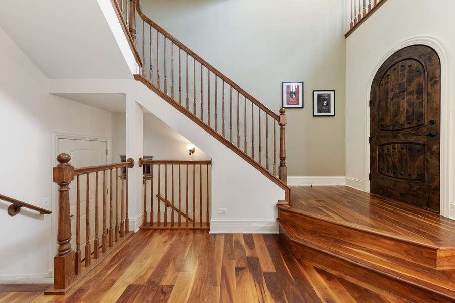 Real Estate Photography - 144 W Quincy, Westmont, IL, 60559 - Foyer