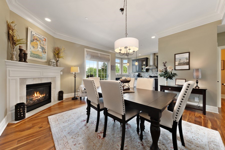 Real Estate Photography - 144 W Quincy, Westmont, IL, 60559 - Dining Room