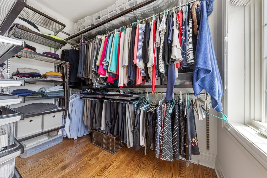 Real Estate Photography - 144 W Quincy, Westmont, IL, 60559 - Closet