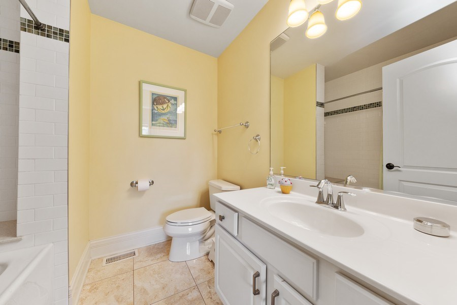 Real Estate Photography - 144 W Quincy, Westmont, IL, 60559 - Bathroom