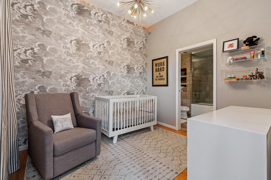 Real Estate Photography - 400 N Racine, 219, Chicago, IL, 60642 - 3rd Bedroom