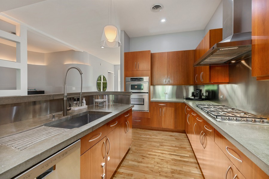Real Estate Photography - 400 N Racine, 219, Chicago, IL, 60642 - Kitchen
