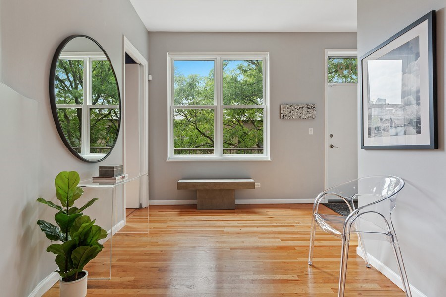 Real Estate Photography - 400 N Racine, 219, Chicago, IL, 60642 - Foyer