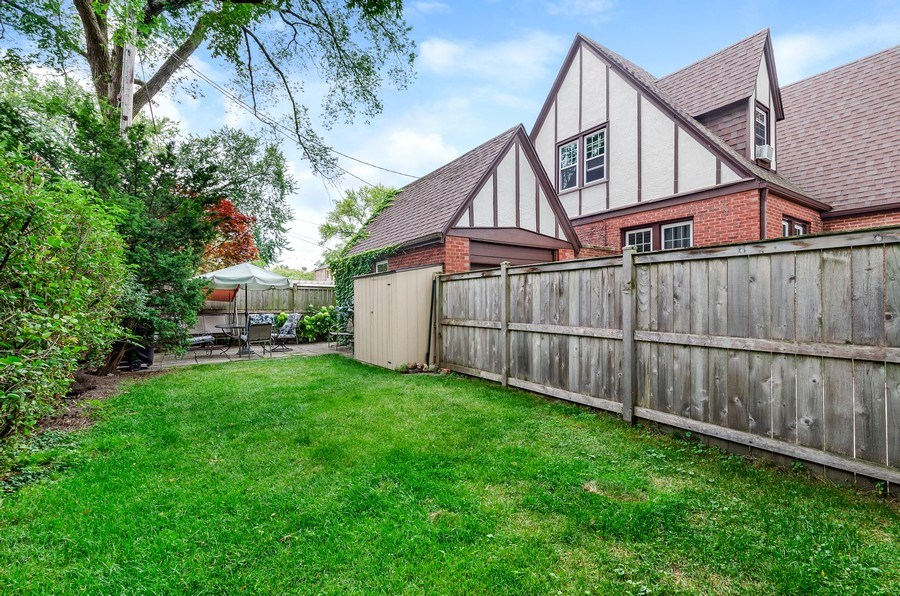 Real Estate Photography - 2131 Lincolnwood, Evanston, IL, 60201 - Back Yard