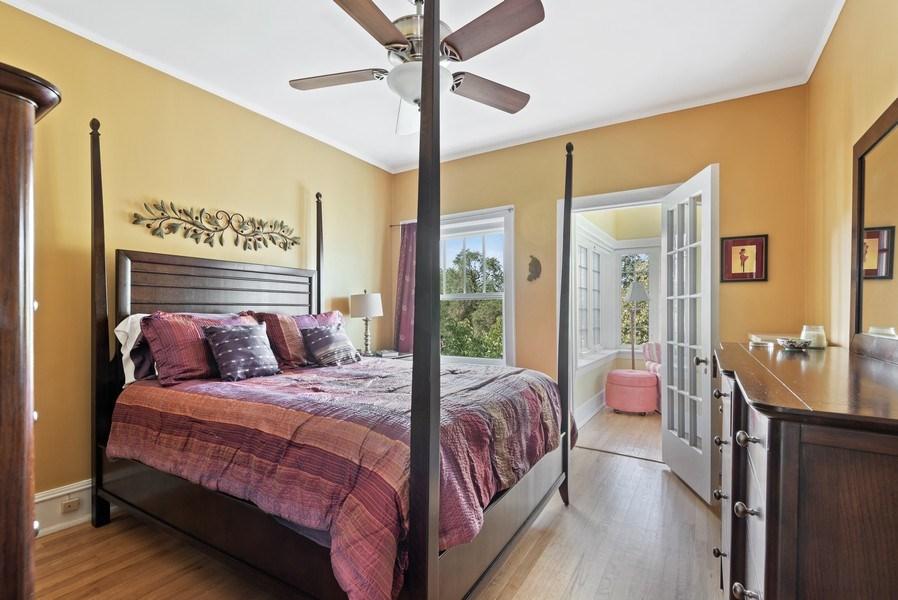 Real Estate Photography - 809 Ridge, Unit 3, Evanston, IL, 60202 - Bedroom