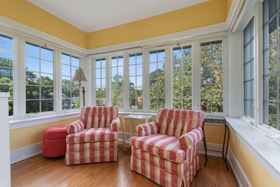 Real Estate Photography - 809 Ridge, Unit 3, Evanston, IL, 60202 - Sun Room