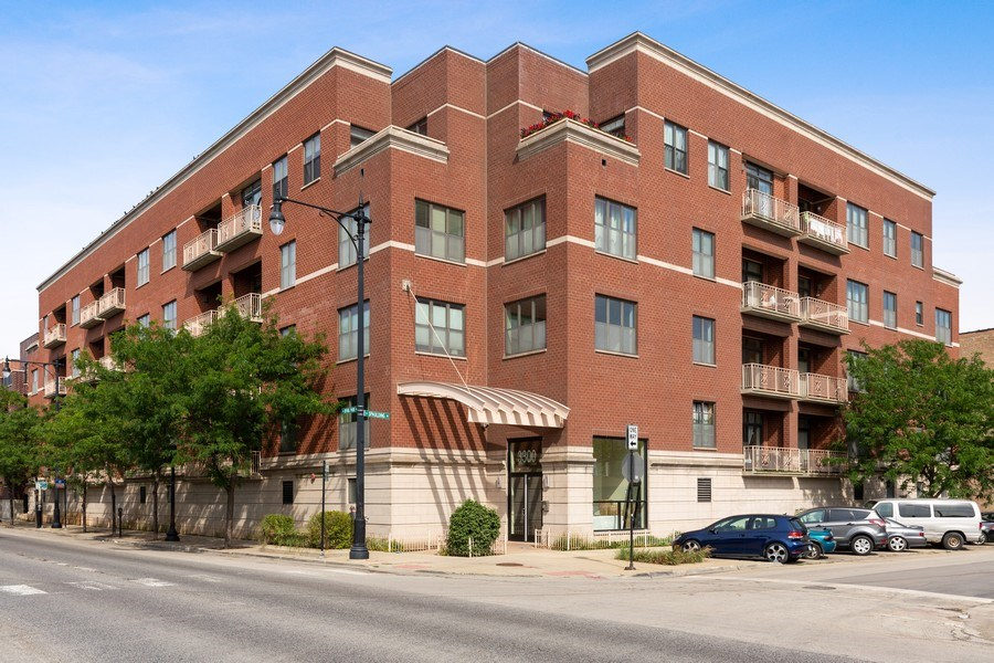 Real Estate Photography - 3300 W Irving Park Rd, Unit B3, Chicago, IL, 60618 - Front View
