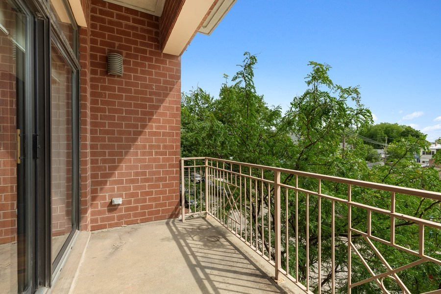 Real Estate Photography - 3300 W Irving Park Rd, Unit B3, Chicago, IL, 60618 - Balcony