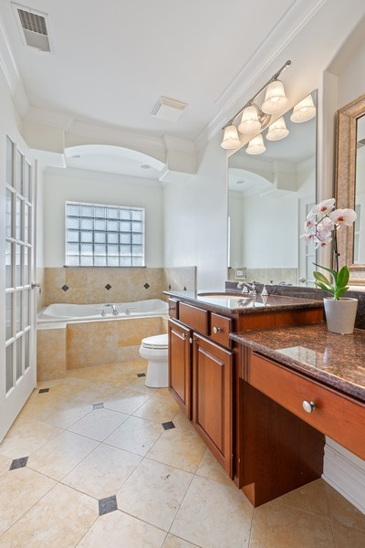 Real Estate Photography - 3652 N Fremont, Unit 3, Chicago, IL, 60613 - Master Bathroom