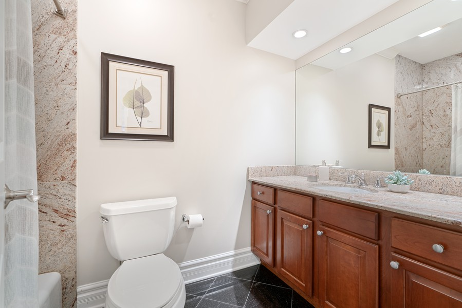 Real Estate Photography - 3652 N Fremont, Unit 3, Chicago, IL, 60613 - Bathroom