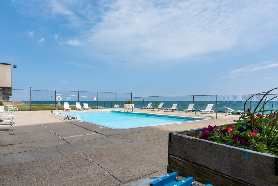 Real Estate Photography - 6325 North Sheridan Road Unit 602, Chicago, IL, 60660 - Pool