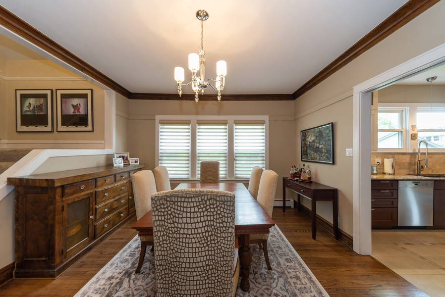 Real Estate Photography - 105 Imperial, Park Ridge, IL, 60068 - Dining Room