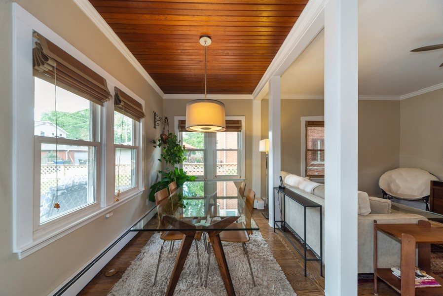 Real Estate Photography - 105 Imperial, Park Ridge, IL, 60068 - Breakfast Nook
