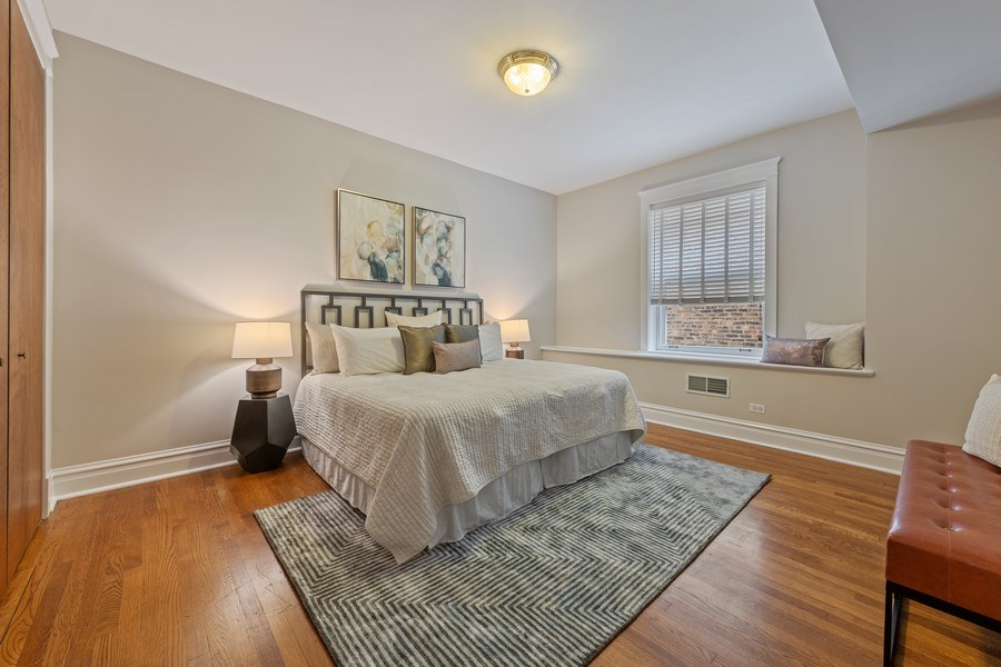 Real Estate Photography - 448 W Wrightwood Avenue, 2, Chicago, IL, 60614 - Master Bedroom